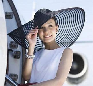 Cappelli da cerimonia. Un raffinato cappello di paglia